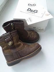 Сапожки ботинки dolce&gabanna 20 размер