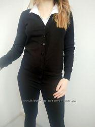 Кардиган свитер женский черный