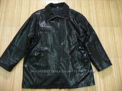 Шикарная кожаная куртка премиум класса . XXXL.