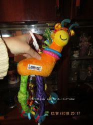 Подвеска на коляску жираф 32см в кульке