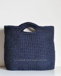 0a690637606b Сумка - тоут из трикотажной пряжи, 450 грн. Женские сумки купить ...