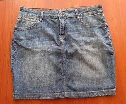 Джинсовая юбка marks spencer