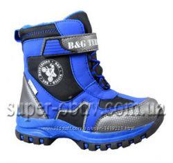 Термо ботинки размер 23 стелька 14, 5 см сапоги зимние непромокаемые B&G