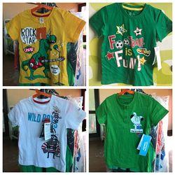Детские футболки 2 3 4 года футболка детская EUR 92 98 104 для мальчика