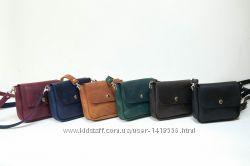1b1091f604eb Кожа. Ручная работа. Кожаная женская сумка, сумочка черная, синяя, зеленая