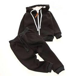 Теплый костюм 3-х нитка с начесом, рост от 80 до 152