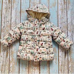 Куртка зимняя детская от Next, на рост 92 см. ЦЕНУ СНИЖЕНО