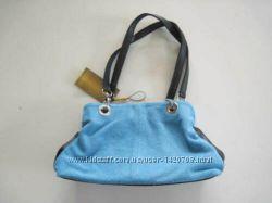 элегантная сумка из Натуральной кожи - замш 28cm x 19cm