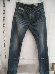 Джинсы мужские молодежные, размер 26, талия 78см