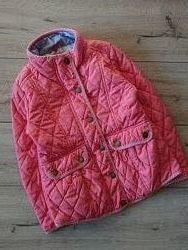 Стеганная куртка Некст 7 лет 122 см деми