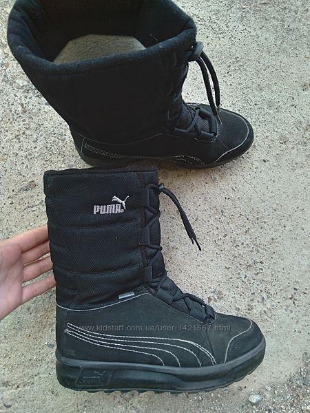 Р.37 Puma Gore-Tex оригинал Зимние ботинки сапоги.