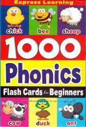 Набор флешкарт Flash Cards Beginners 1000 Phonics