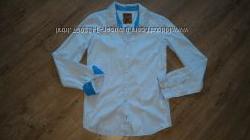 Новая хлопковоя рубашка на подростка modenoанглия. 170-176 рост