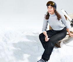 Лыжные термо брюки софтшелл , утепленные, ТСМ чибо. германия. евро 38. 40