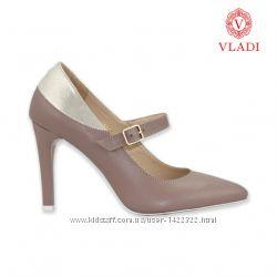Туфли натуральная кожа каблук 9 см