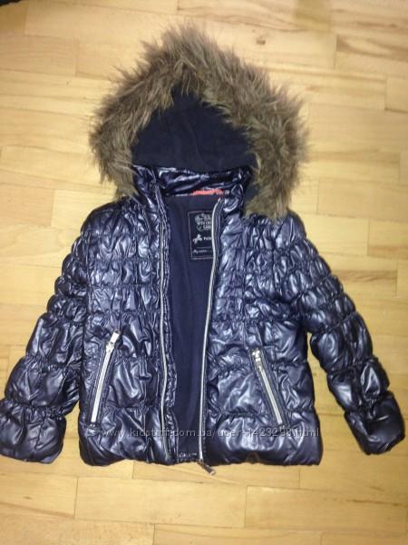 Теплая демисезонная куртка на девочку Palomino, размер 98-110 см