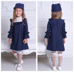 Школьное платье в английском стиле