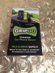 Универсальный автомобильный держатель для телефона GPS навигатора GripGo