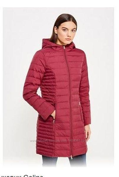 Пальто-куртка пух 90 colins