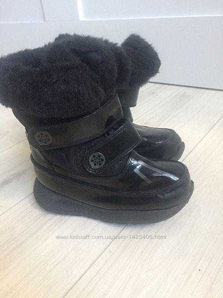Cougar waterproof чоботи мех, стелька 16 см