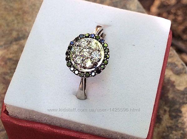 Кольцо с бриллиантами 0.64 карат