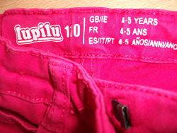 штаны, джинсы, брюки Lupilu на 4-5 лет 110 р.