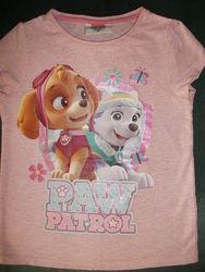 футболка PAW patrol 5-6 лет