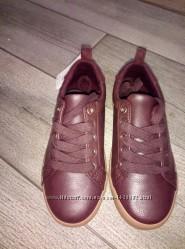 Школьные кожаные кроссовки Gymboree р 29