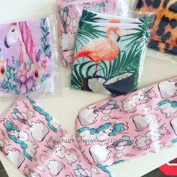 Милые носочки с рисункамиедироги, фламинго