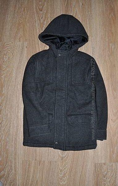 Детское шерстяное пальто gap на 120 см