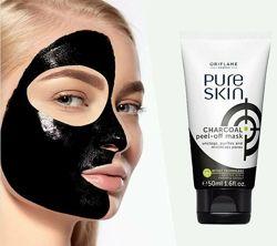 Очищающая маска-пленка с углем Pure Skin 34872 Oriflame