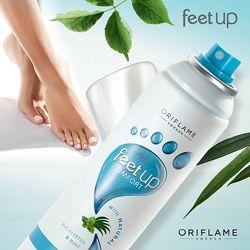 Освежающий cпрей-дезодорант для ног и обуви Feet up Comfort 32372 Oriflame