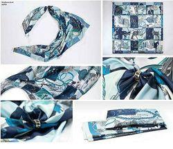 Стильный шарф в морской тематике Oriflame Exklusiv Stockholm
