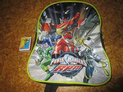 Рюкзачок для мальчика со смелыми рейнджерами