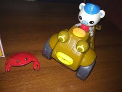 Капитан Барнаклс и краб с машиной ОктонавтыFisher-Price Octonauts
