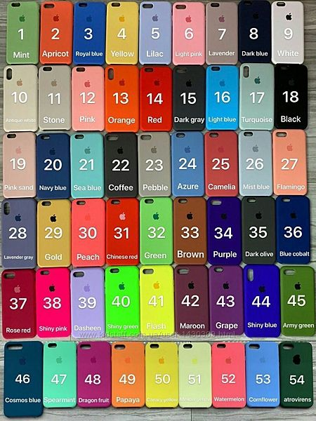 ОПТ Silicone Case Селикований чехол Apple Айфон IPhone