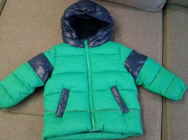 Новая куртка Benetton на 1. 5- 2 года.  Оригинал