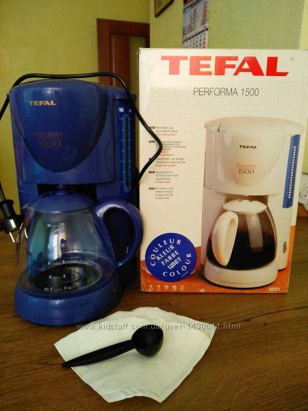 Кофеварка Tefal performa 1500