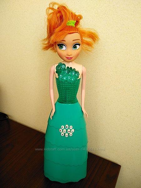 Развивающая обучающая музыкальная кукла Анна, Холодное Сердце