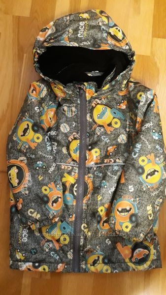 Термо курточка деми для мальчика тм BeEasy р 104