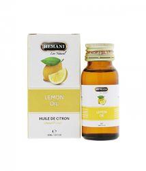 Эфирное масло лимона Хемани Hemani Lemon Oil 30 мл. Пакистан