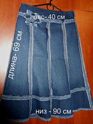юбка джинсовая новая М-L-XL