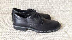 Туфлі чоловічі шкіряні чорні Gallus розмір 44