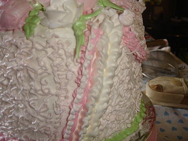 Домашний торт Иней