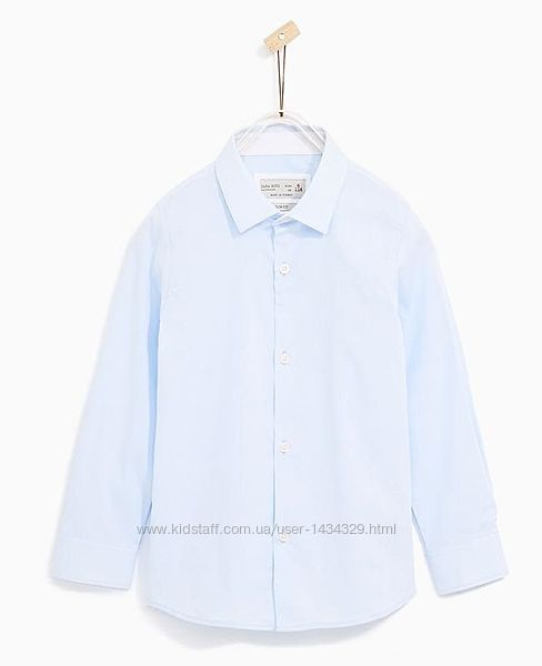 Рубашки Zara для мальчика. Возраст 7-14 лет