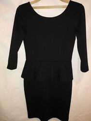 Черное платье-футляр миди от kira plastinina