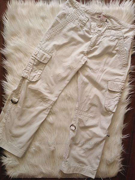 Белые капри бриджи с карманами ymi jeans usa