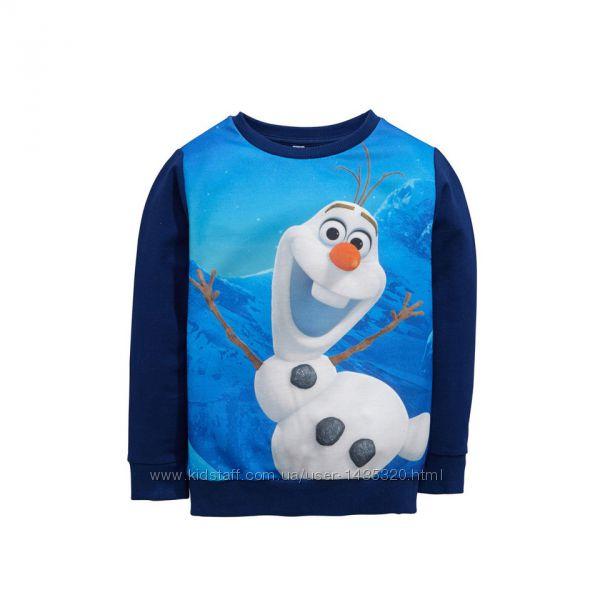 Легкий свитшот, кофта Disney Long Sleeved Olaf Sweat, р. 9-10 лет.