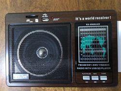 Классный радиоприёмник, портативная колонка GOLON RX-9966