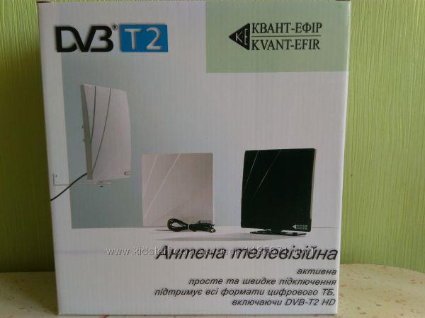 Комнатная антенна для Т2 приставок, тюнеров, ресиверов ARU-01